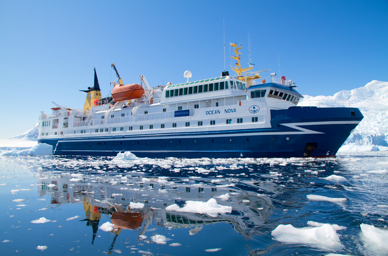 M/V 'Ocean Nova', our expedition vessel to Antarctica - Grand Antarctica with FS Expeditions - www.fsexpeditions.com