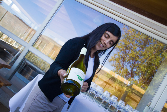 Time to taste a delightful Gewürztraminer from Matetic vineyards, Leyda Valley, Chile © Claudio F. Vidal, Far South Expeditions