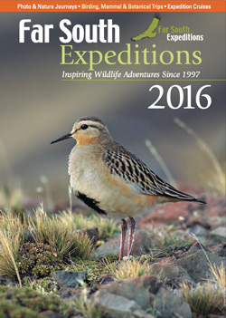 Our 2016 Far South Expeditions Catalogue is Available