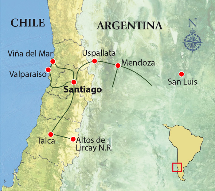 Birds and Wines, Chile & Argentina Tour