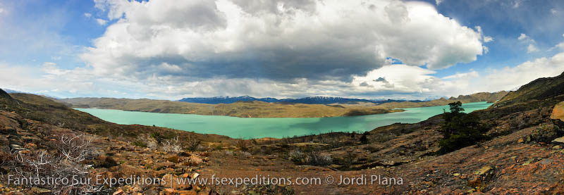 Torres del Paine Hiker Photo Site