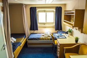 MV Sergey Vavilov: Twin Private Cabin